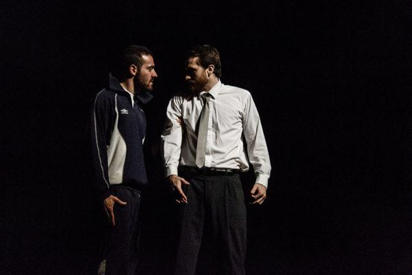 Charles (Anthony Molina-Diaz) et Koch (Christophe Delrée), Quai Ouest