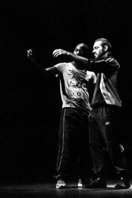 Charles (Anthony Molina-Diaz) et Fak (Jérémie Zagba), Quai Ouest