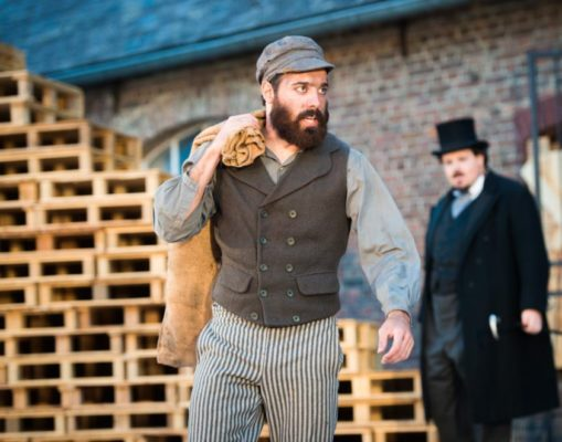 Anthony Molina-Diaz (Jean Valjean). © Florent Marot