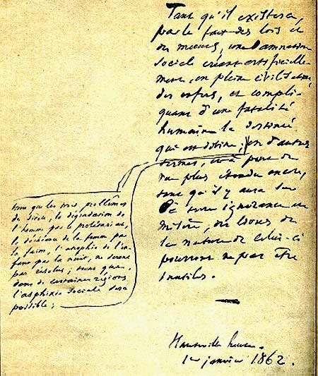 Préface de Victor Hugo, Les Misérables, 1862