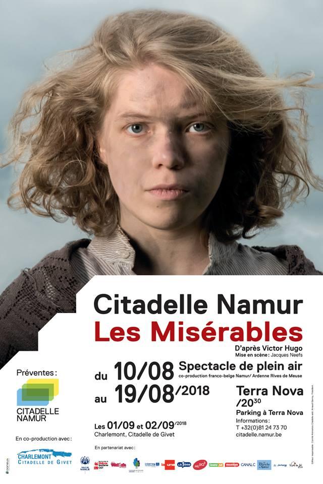 Les Misérables à la Citadelle de Namur
