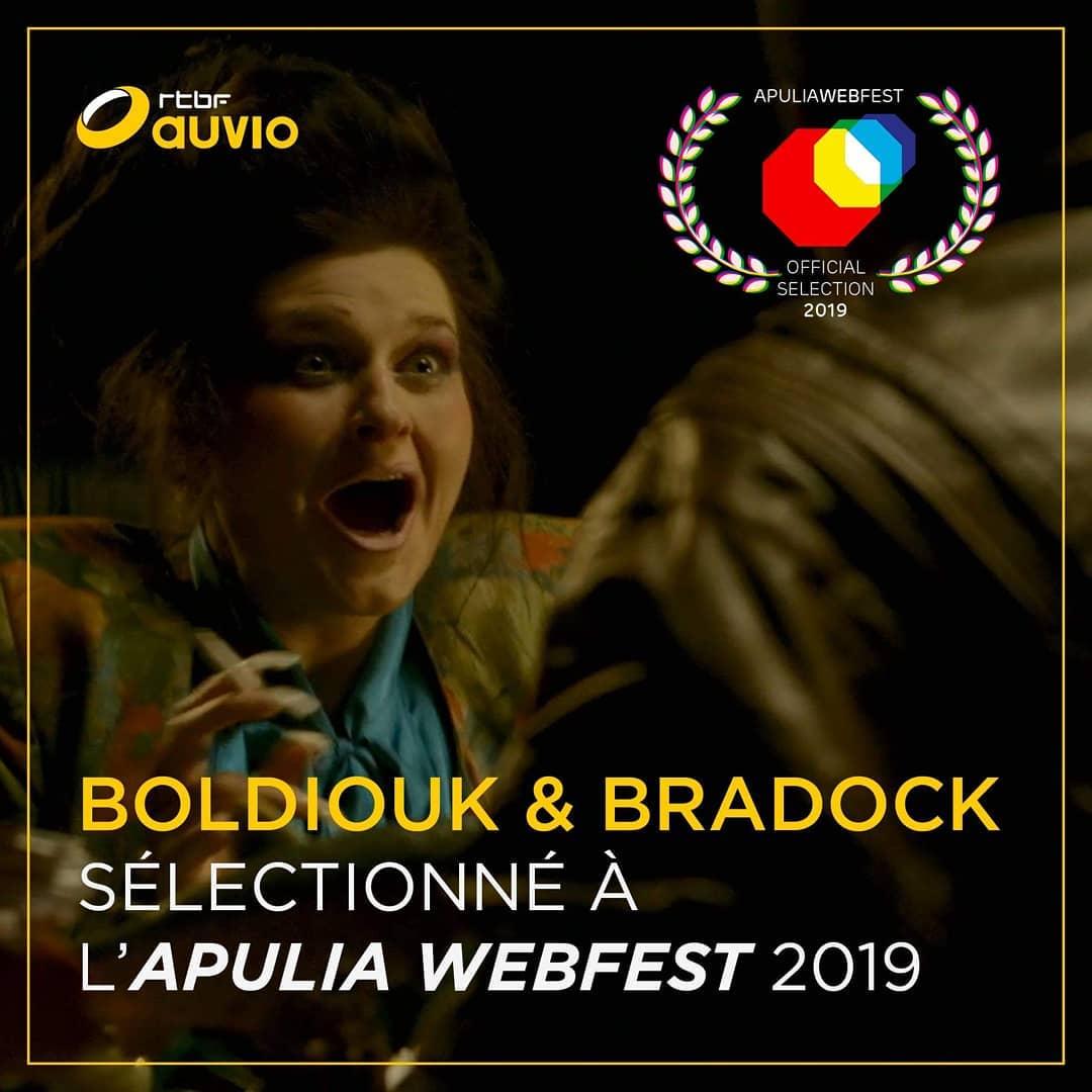 Boldiouk & Bradock sélectionné à l'Apulia Web Fest 2019