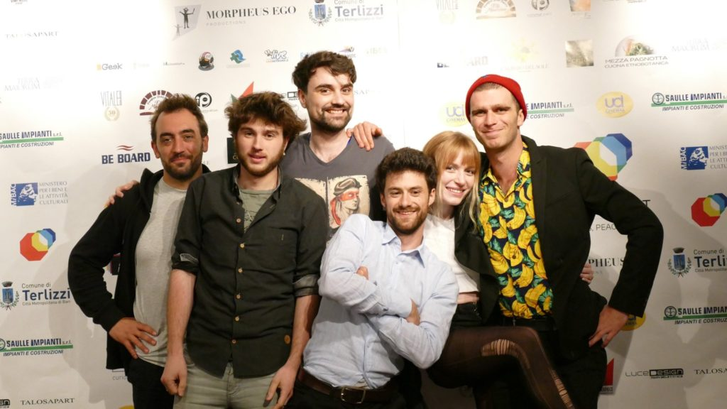 Boldiouk & Bradock recompensé à l'Apulia Web Fest 2019, Bari, Italie